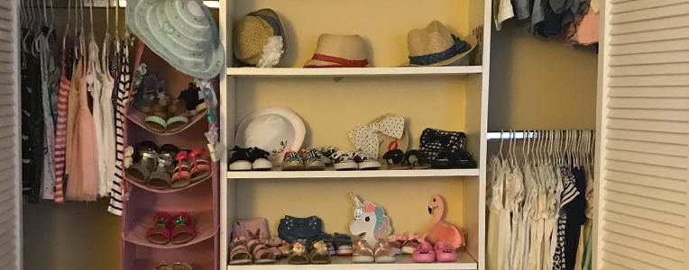 La organización del closet de tus pequeños